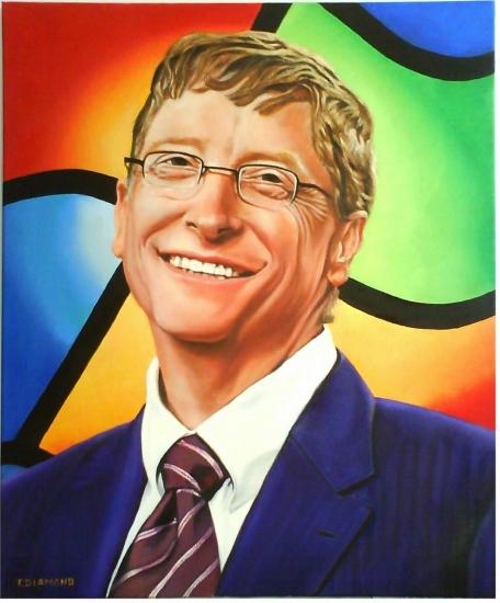 Bill Gates by fdiamond06